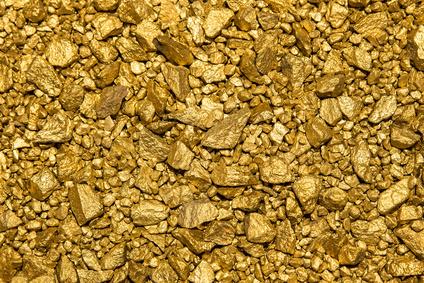 ゴールドラッシュ 金本位制度 金の採取