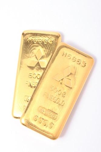 24金(K24・純金) インゴット2本 1,000g
