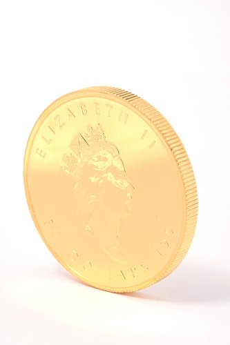 24金(K24・純金) メープルリーフ金貨1枚 1オンス 31.1g