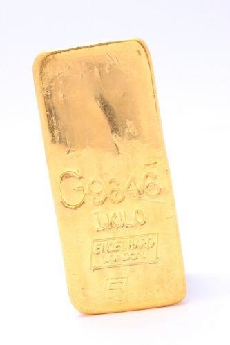 24金(純金) インゴット1本 総重量1,000g