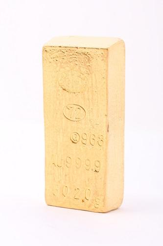 24金(純金) 金塊 総重量:502g