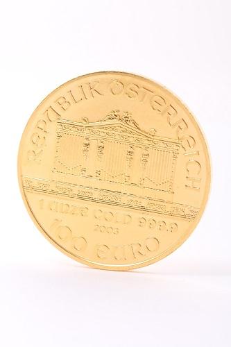 24金(純金) オーストリア ウィーン金貨 1oz(31.1g)