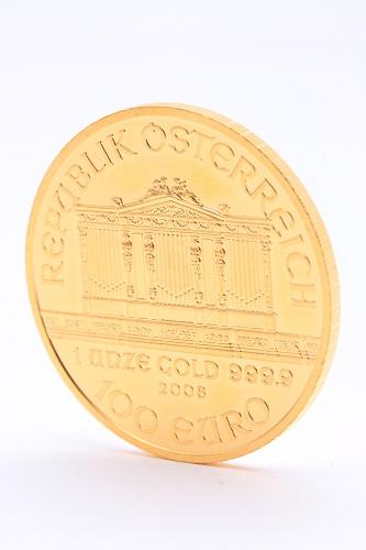 24金(純金) オーストラリア・ウィーン金貨 1オンス(31.1g)