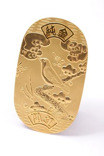 24金(K24・純金) 小判1枚 重量80.3g