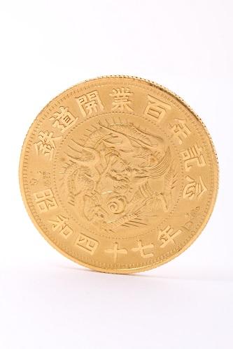 24金(K24・純金) 記念メダル1枚 総重量27.1g