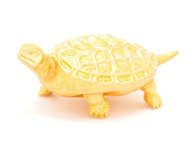 24金(純金) 亀の置物 総重量37.5g