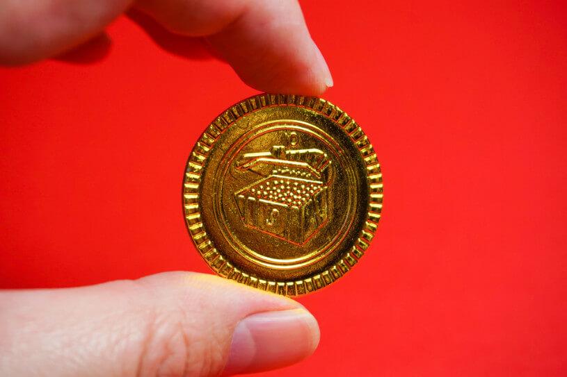 純金製のメダル、コインとの違いを解説