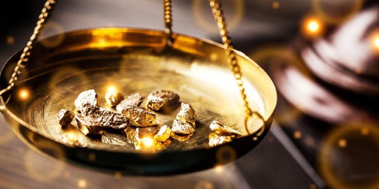金の品質を調べる