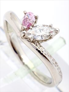 ダイヤモンドリング(Pt900 0.302ct 4.7g)