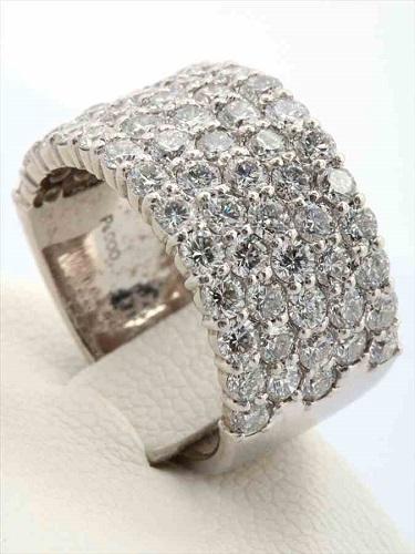 Pt900 ダイヤモンドリング 総カラット数/約3.1ct
