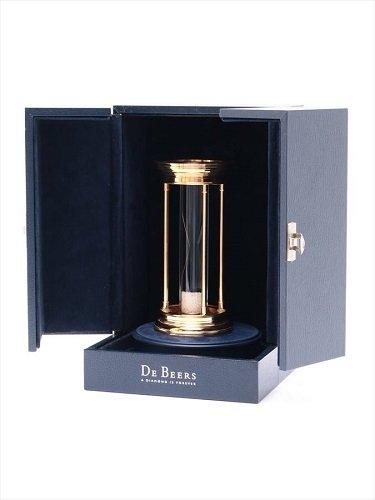 デビアス ダイヤモンドミレニアムアワーグラス 砂時計 世界限定品