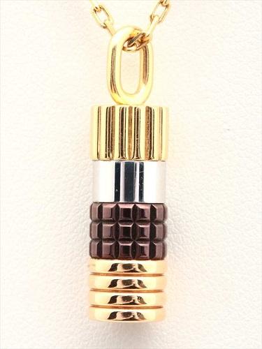 ブシュロン キャトル ペンダントネックレス ラージサイズ 4色ゴールド