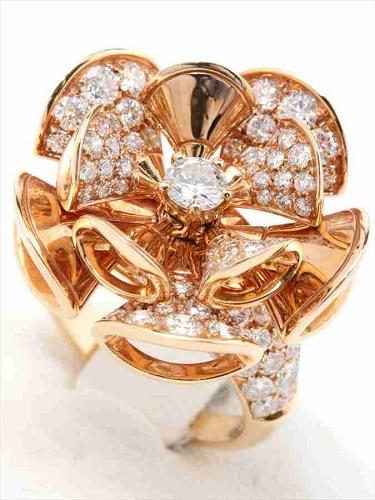 ブルガリ ディーヴァ ドリーム リング K18×ダイヤモンド