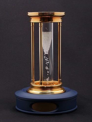 デビアス ダイヤモンド ミレニアムアワーグラス 砂時計
