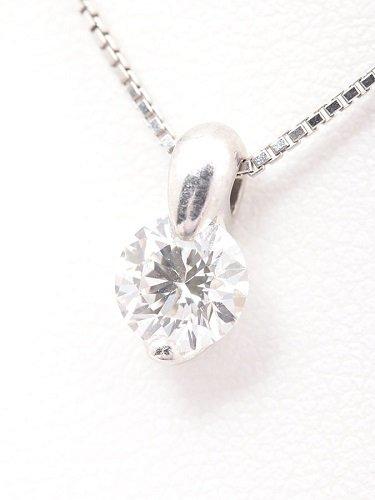 TASAKI(田崎真珠) ダイヤモンドネックレス Pt900×Pt850 0.70ct