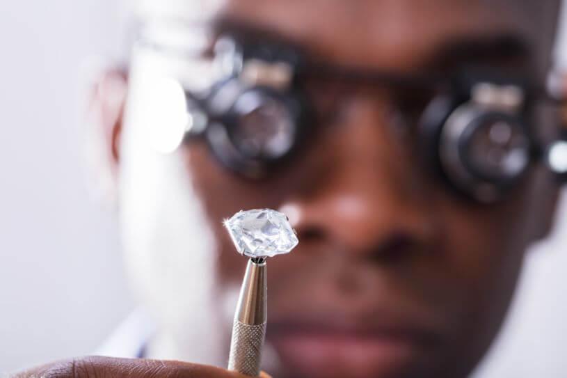 ダイヤモンドの鑑定