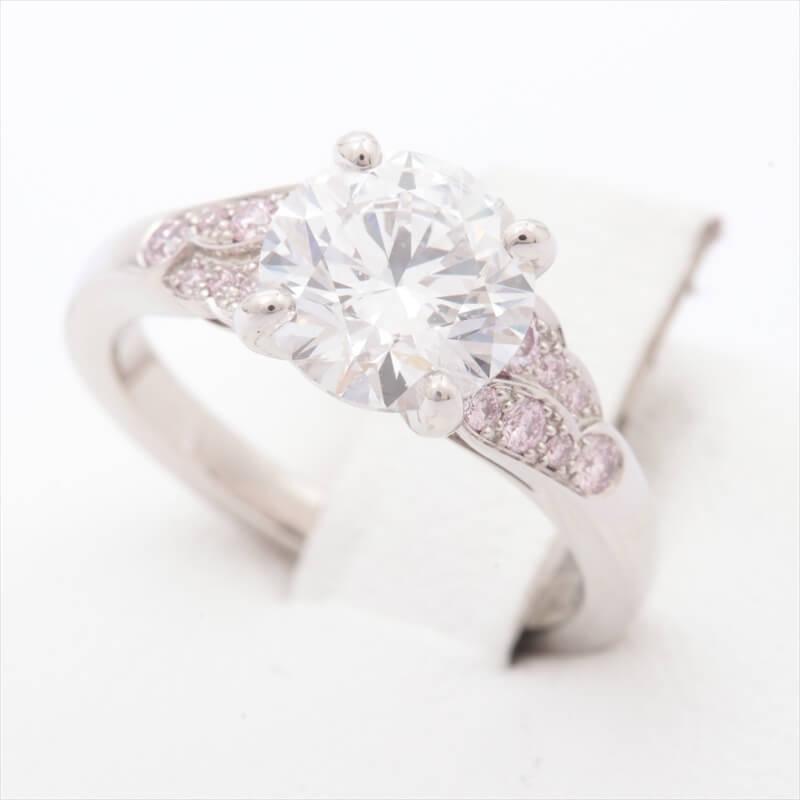 俄(にわか) ダイヤモンドリング