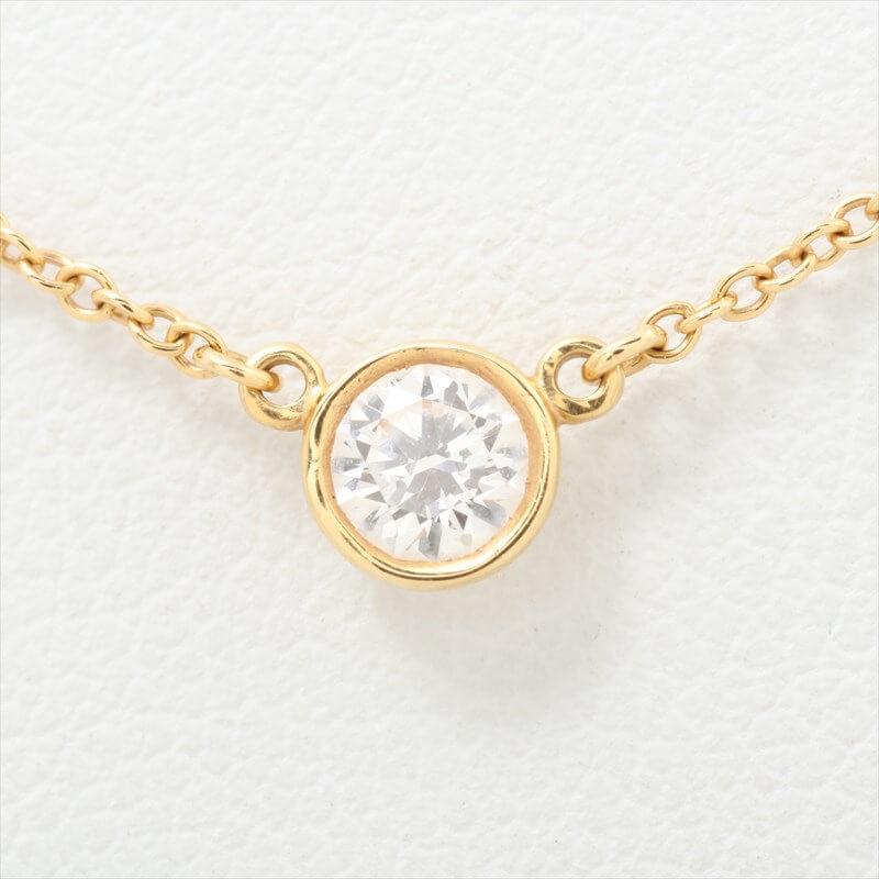 ティファニー バイザヤード 1P ダイヤモンド ネックレス