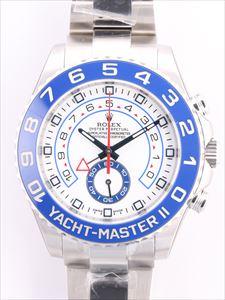 ロレックス ヨットマスターⅡ 116680 白文字盤