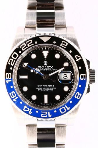 ロレックス GMTマスターⅡ 116710BLNR 青黒ベゼル