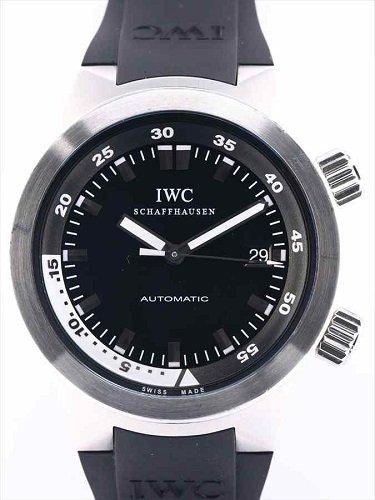 IWC アクアタイマー IW354807 黒文字盤