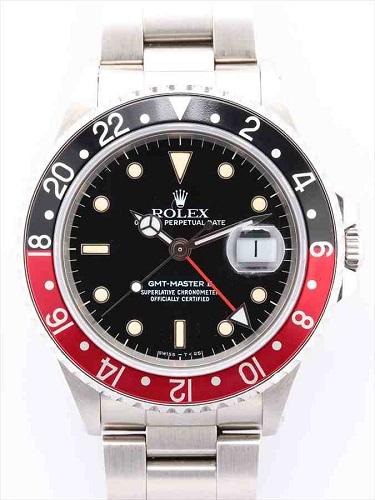 ロレックス GMTマスターⅡ 16710 赤黒ベゼル