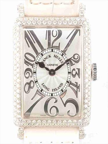 フランク ミュラー ロングアイランドレリーフ 902QZD ゼベル・尾錠・ラグダイヤ装飾