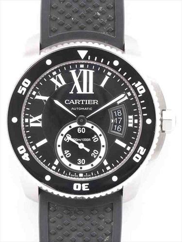 カルティエ カリブル ドゥ カルティエ ダイバー ウォッチ 3729 SS/ラバー