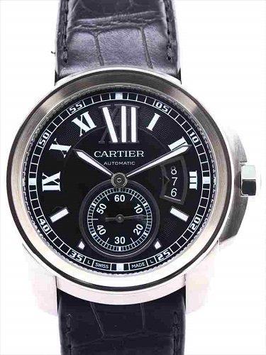 カルティエ カリブル ドゥ カルティエ W7100041 黒文字盤
