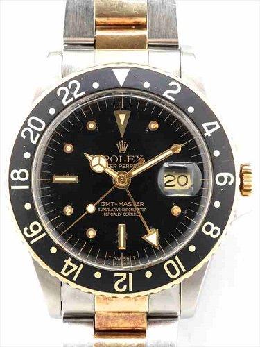 ロレックス アンティーク GMTマスターⅠ 1675 フジツボダイヤル
