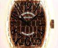 フランク ミュラー トノウカーベックス ゴールド クロコ 8880SC