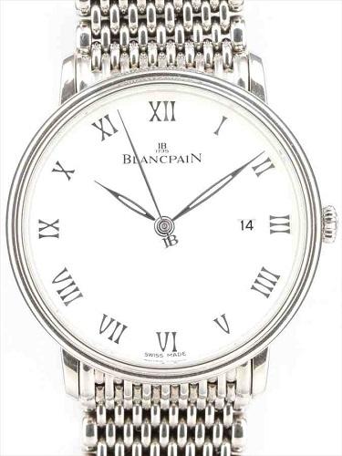 ブランパン ヴィルレ ウルトラスリム 6651-1127-MMB ステンレスモデル