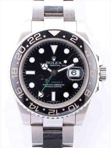 ロレックス GMTマスターⅡ 116710LN M番