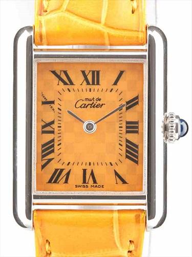 カルティエ マストタンク 2416 レディース時計