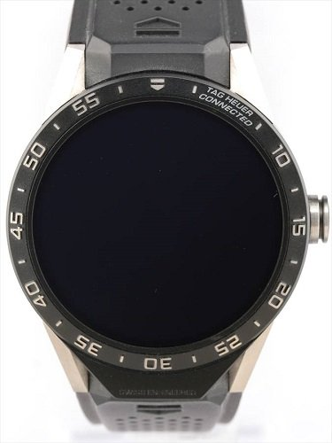 タグ・ホイヤー コネクテッド SAR8A80.FT6045 ブラックラバー