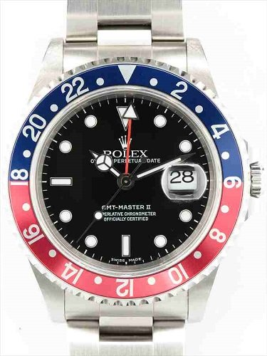 ロレックス GMTマスターⅡ 16710 赤青ベゼル A番