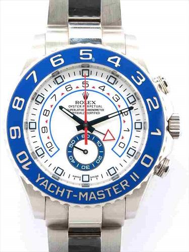 ロレックス ヨットマスターⅡ 116680 ランダム品番 ステンレスモデル