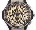 ウブロ ビッグ・バン スノーレオパード 341.SX.7717.NR.1977 レオパード文字盤