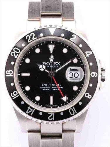 ロレックス GMTマスターⅡ 16710 黒ベゼル