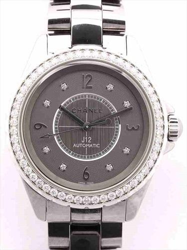 シャネル J12 クロマティック ダイヤモンドベゼル H2566