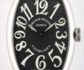 フランク ミュラー カサブランカ 5850CASA 黒文字盤 メンズ