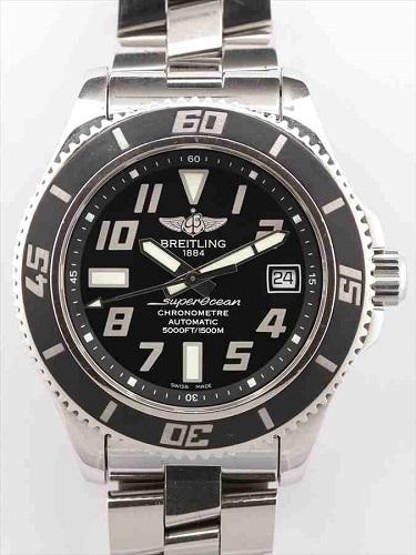 ブライトリング スーパーオーシャン42 A17364 黒文字盤