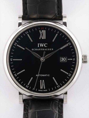 IWC ポートフィノ IW356502 黒文字盤