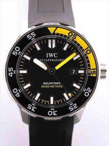 IWC アクアタイマー オートマティック 2000 IW356810 黒文字盤
