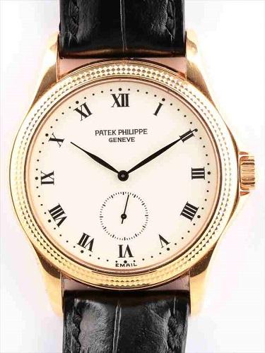 パテック フィリップ カラトラバ 5115R-001 ホワイトエナメル文字盤