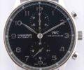 IWC ポルトギーゼ クロノグラフ オートマティック IW371447 黒文字盤