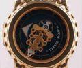 ユリス・ナルダン フリーク 026-88 K18PG×革 青文字盤