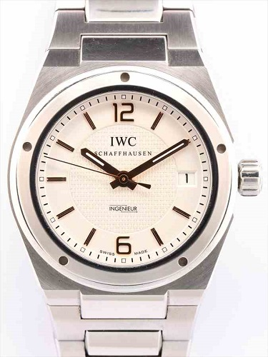 IWC インヂュニア IW322801 白文字盤