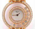 ショパール ハッピーダイヤモンド 205596 7Pダイヤ ダイヤモンドベゼル