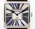 ロジェ・デュブイ ゴールデンスクエア G40 14 0 G33.7A ホワイトシェル文字盤